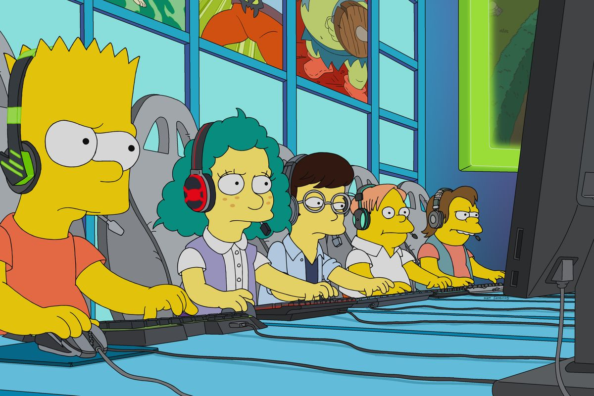 The Simpsons appeared in LoL