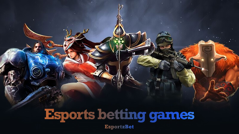 Esports betting games