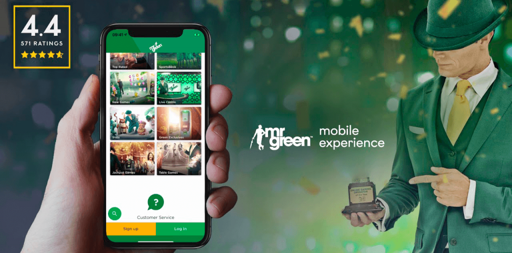 Mr Green Mobile Betting Options