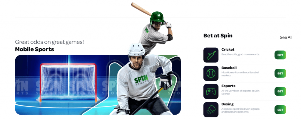 Spin Sports Mobile
